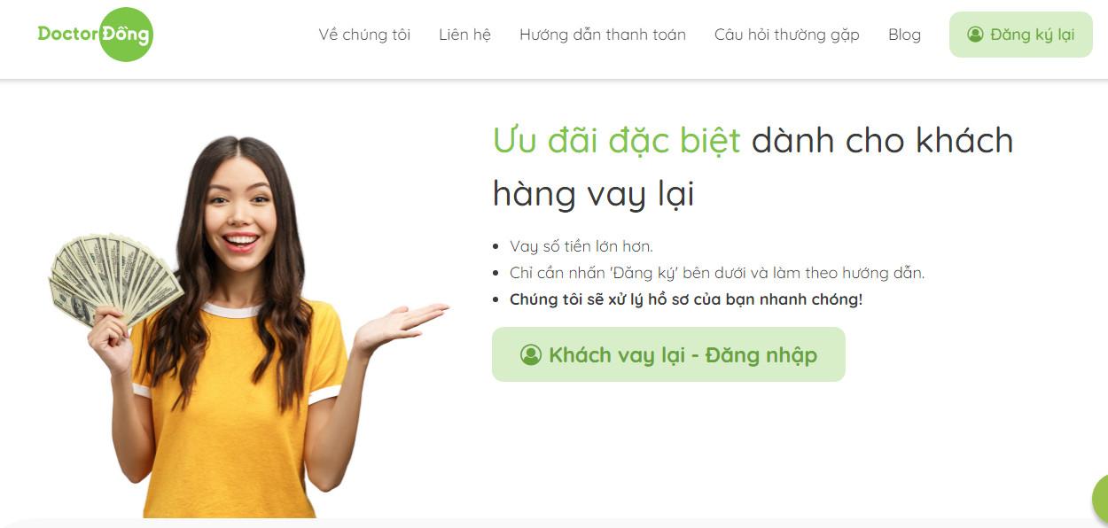 Vay tiền Doctor Đồng – Giải pháp tài chính tin cậy và chất lượng số 1!