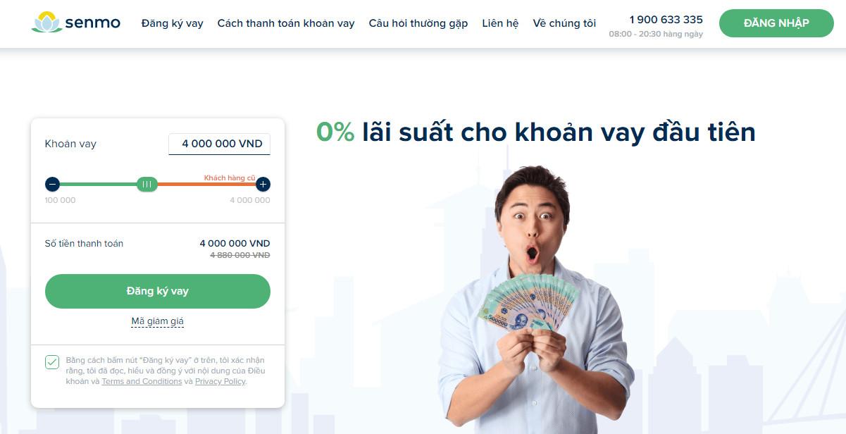 Vay tiền Senmo – Vay online uy tín tiện lợi, mọi lúc mọi nơi!