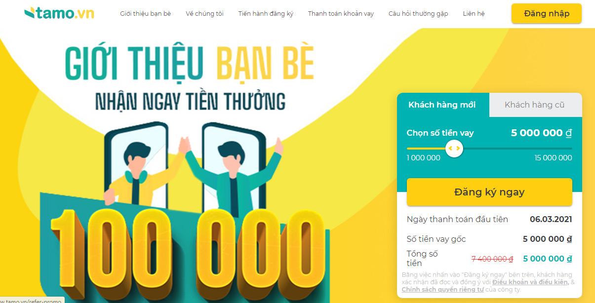 Vay tiền Tamo – Giải pháp tài chính nhanh chóng và dễ dàng cho bạn!