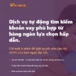 Vay quá dễ – Tha hồ lựa chọn vay tiền online!